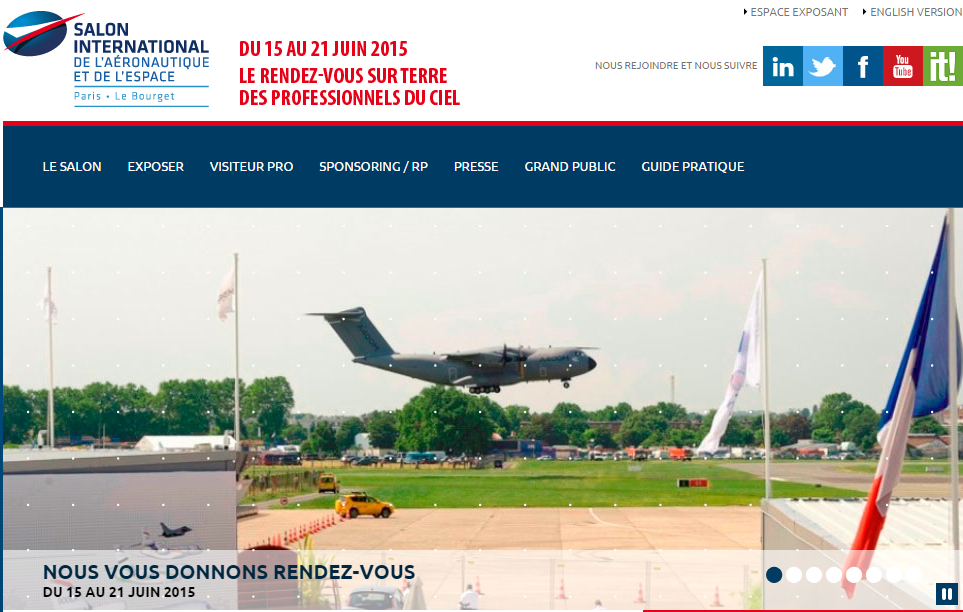 Salon international de l a ronautique et de l espace au - Salon international de l aeronautique du bourget ...