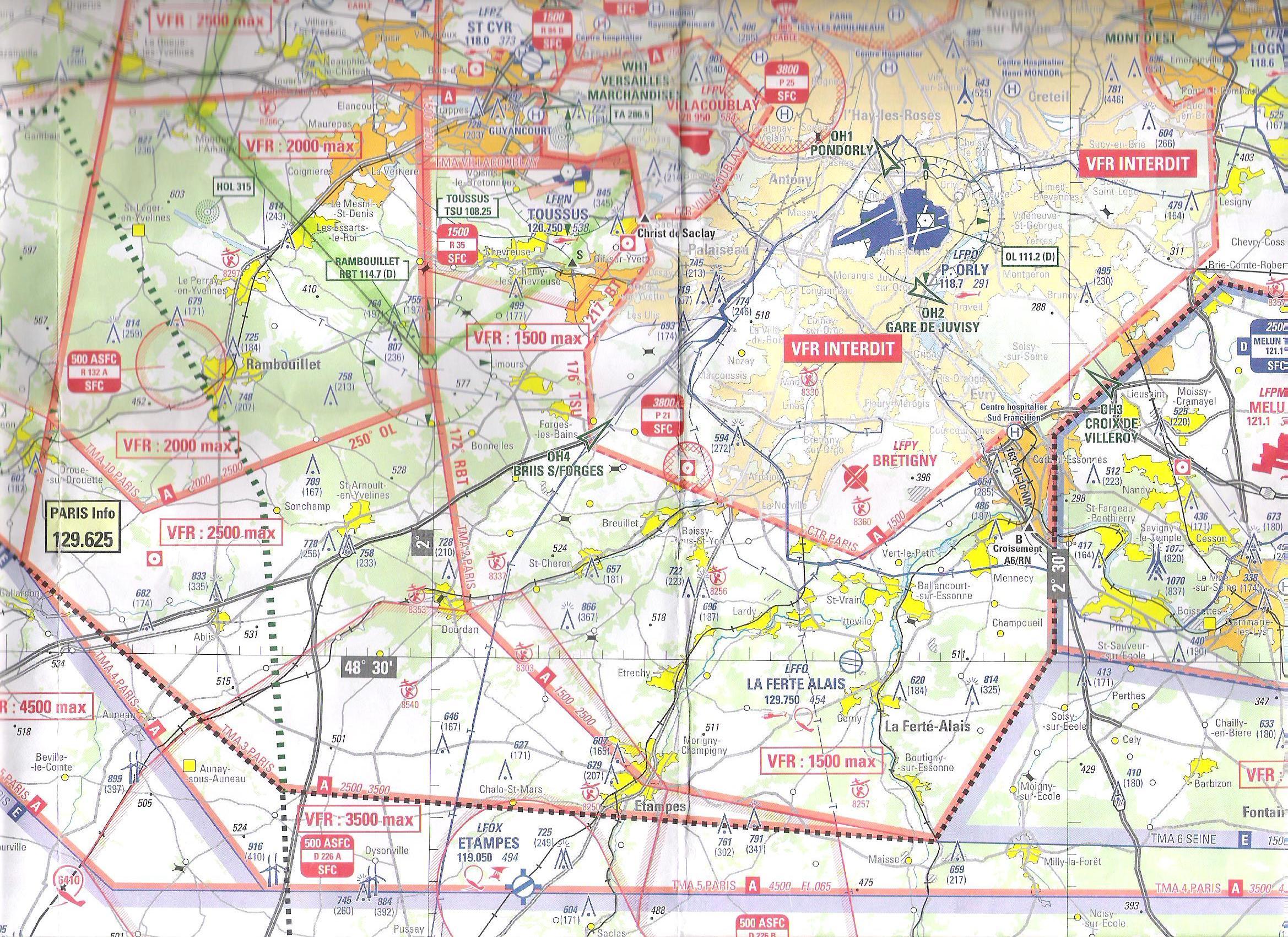 Carte Aeronautique Region Parisienne.Nouveautes Dans La Region Parisienne Volets10 Fr