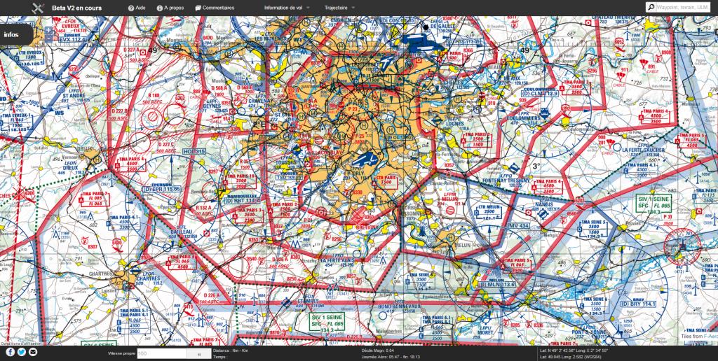 Carte Aeronautique Region Parisienne.Nouvelle Carte Aeronautique Ign Oaci 2014 Sur Carte F Aero